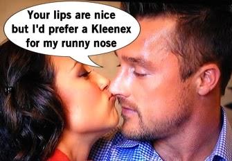 The Bachelor Kelsey Kisses Chris